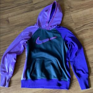 Nike Therma-Fit Hooded Sweatshirt, Size Medium
